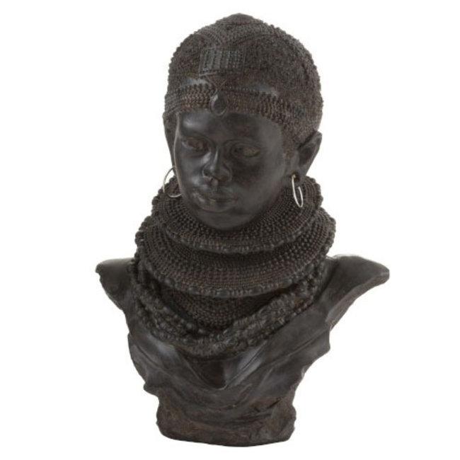 Decoratie Beeld/Buste Afrika Traditioneel