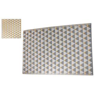 Home & Deco Tuintapijt gerecycled plastic triangle