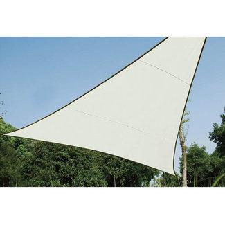 Perel Waterafstotend zonnedoek Driehoek 5 x 5 x 5 m creme