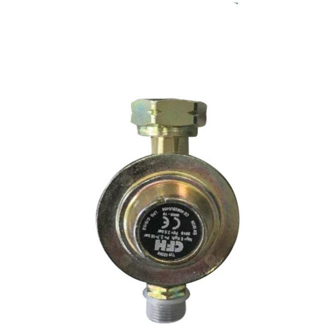 CFH Drukregelaar 2,5 bar speciale G2 aansluiting voor gebruik in Belgie