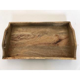 Varios Dienblad rechthoek mangohout 30 x 45 cm