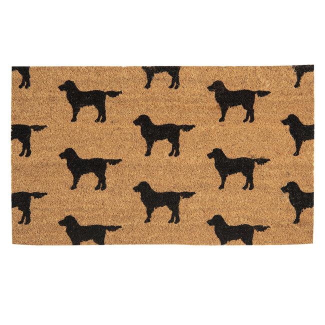 Clayre en Eef Kokos deurmat honden 75 x 45 cm
