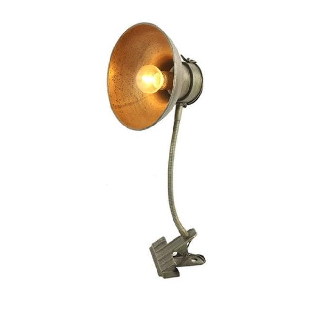 Home & Deco Klem Led lamp Stephen grijs