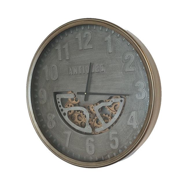 Mansion Radar klok Antiques met glasplaat 60 CM