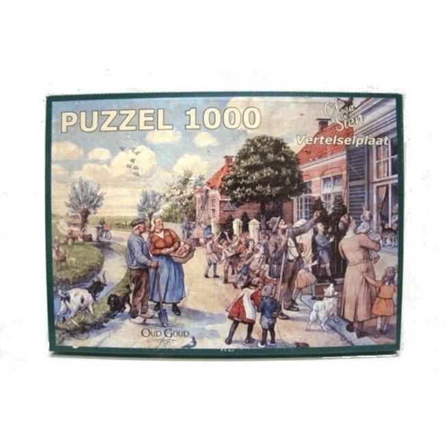 Home & Deco Ot en Sien Vertel plaat legpuzzel 1000 stukjes
