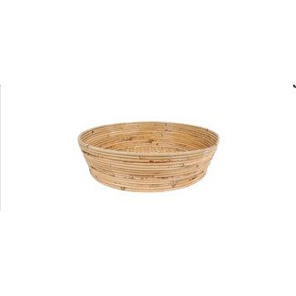 Schaal bamboe naturel 47x42 cm