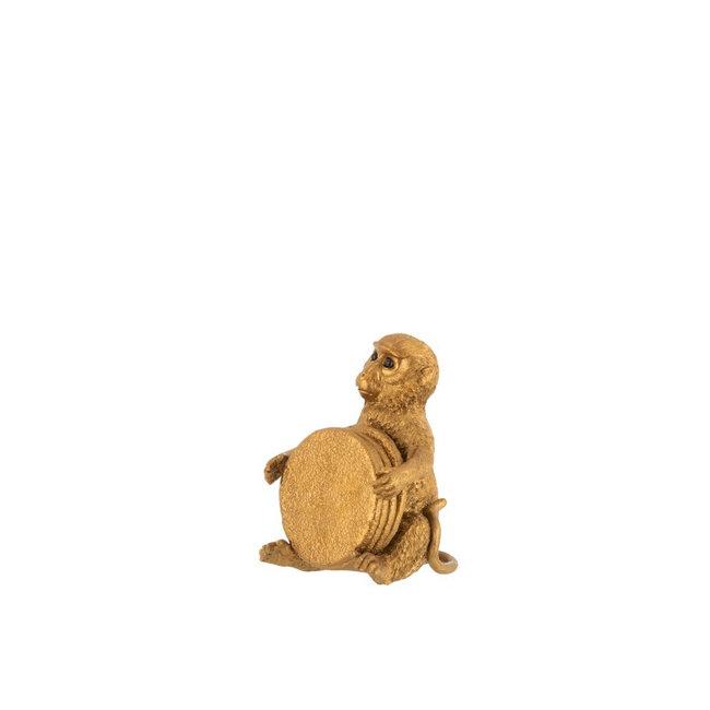 Jolipa Gouden aapje met vier onderzetters