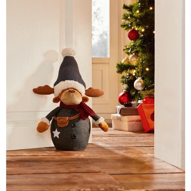 Home & Deco Deurstopper winter rendier