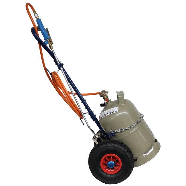CFH Gasfles trolley -gasfleswagen-gasfles wagen.