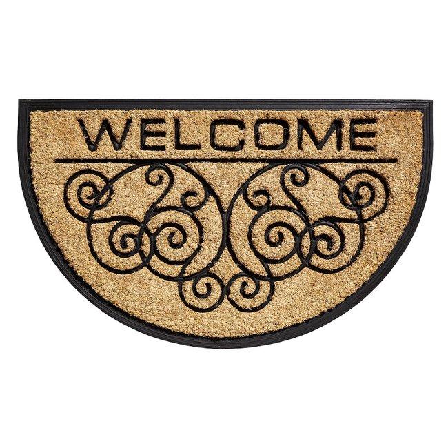 """Home & Deco Deurmat kokos """"welcome"""""""