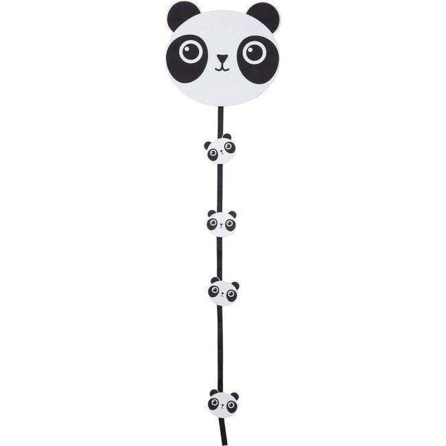 J-Line Panda slinger met clips voor foto's en kaarten