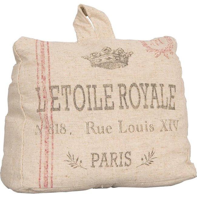 Clayre & Eef Deurstopper L'etoile Royale