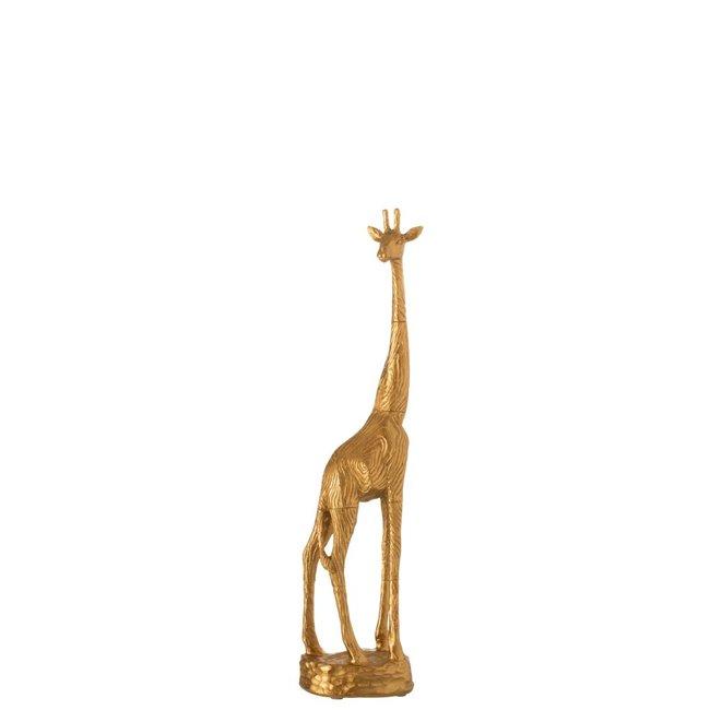 Home & Deco Beeld giraf goud small