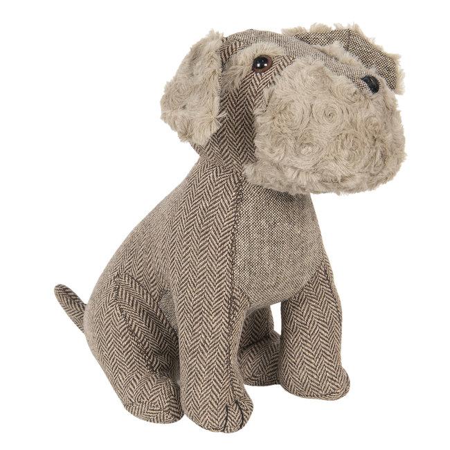 Clayre & Eef Deurstopper hond Max