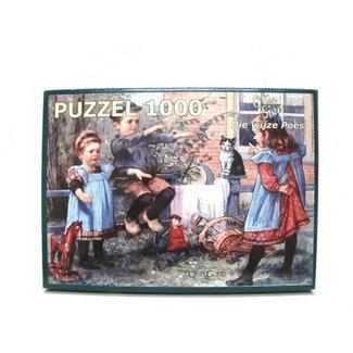 KS Games Puzzel Ot en Sien Die Wijze Poes - 1000 stukjes