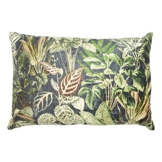 Goround Sierkussen fluweel groen jungle 40 x 60