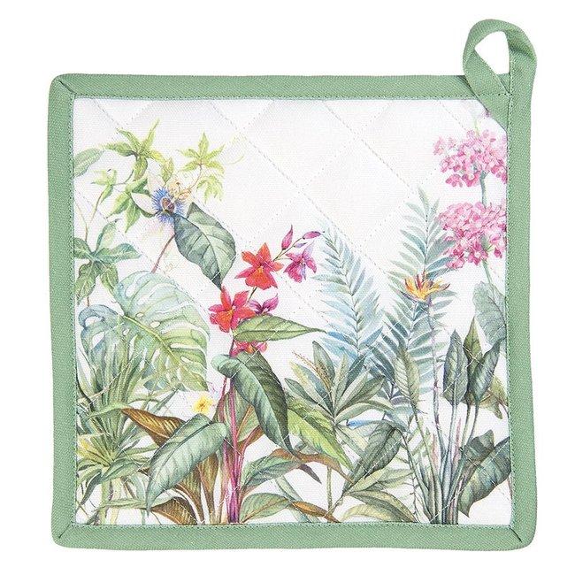 Home & Deco Pannenlap Botanisch - set van 2