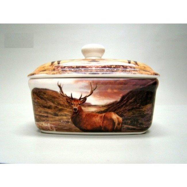 William Morris Botervloot keramiek edelhert