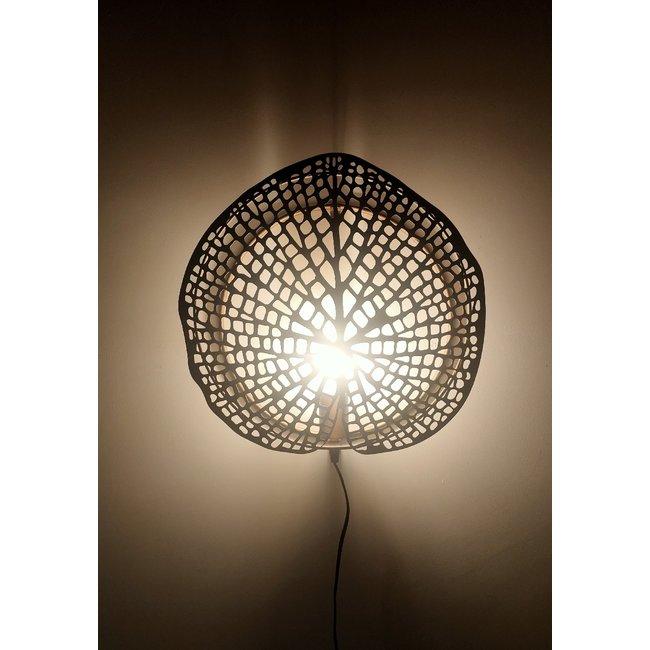 Countryfield Muurlamp Akka goud 40 cm