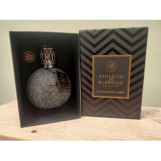 Asleigh & Burwood Geurlamp Giftset Smoked Dusk met  250 ml olie