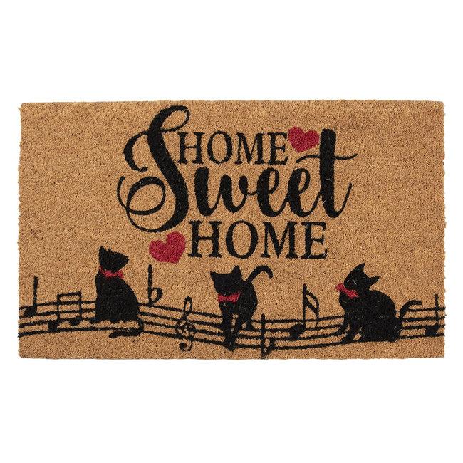 Clayre & Eef Deurmat poes home sweet home