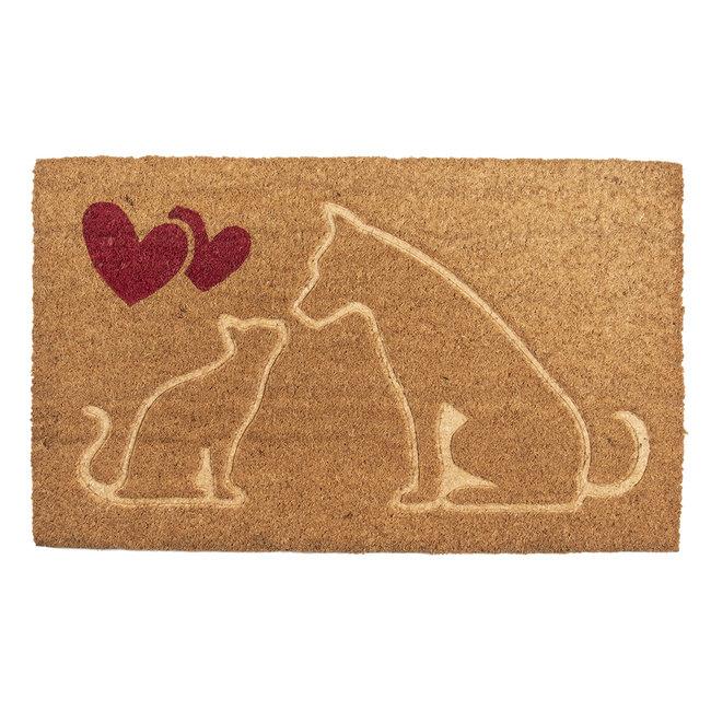 Clayre & Eef Deurmat kat & hond