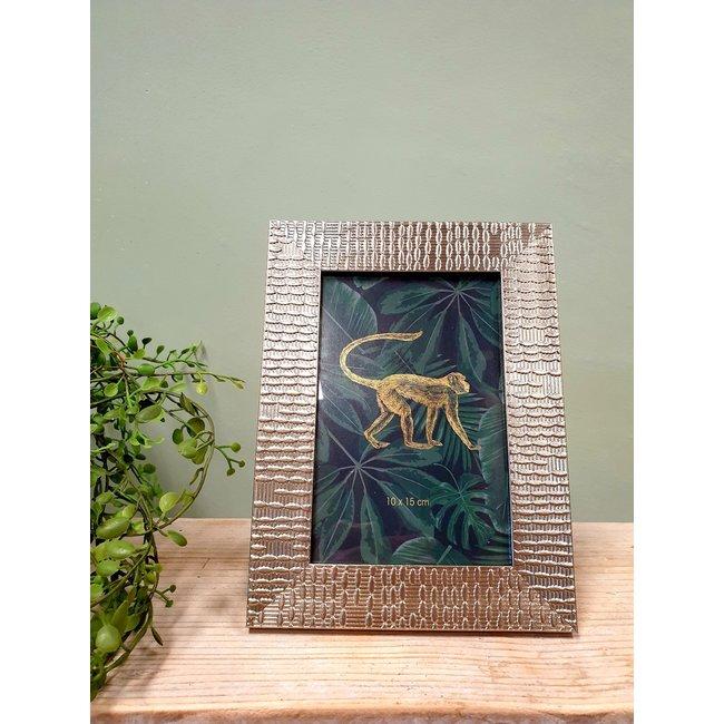 Home & Deco Fotolijst Jungle goud - 10 x 15 cm