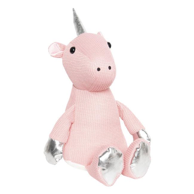 Clayre & Eef Deurstopper roze eenhoorn Spykie