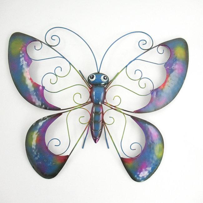 Home&Deco Wanddecoratie vlinder groot