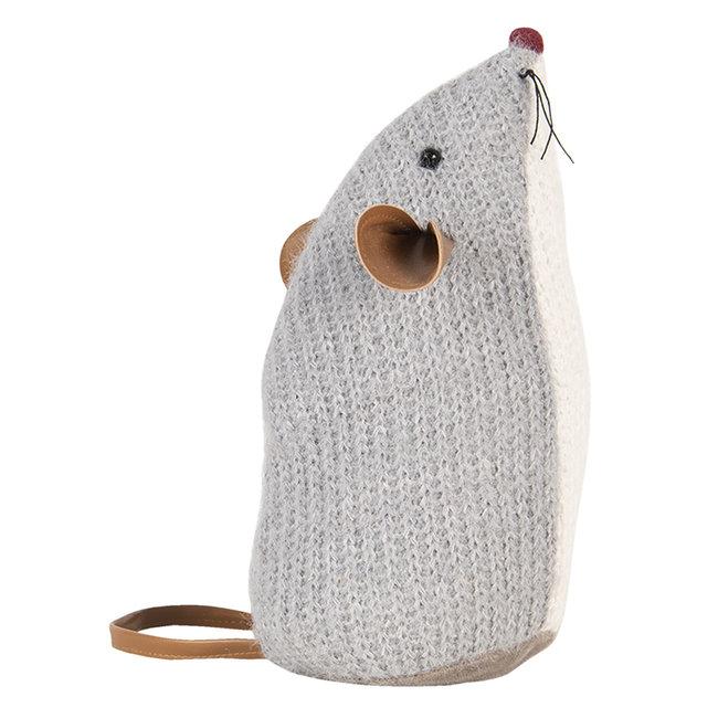 Clayre & Eef Deurstopper muis kruimeltje