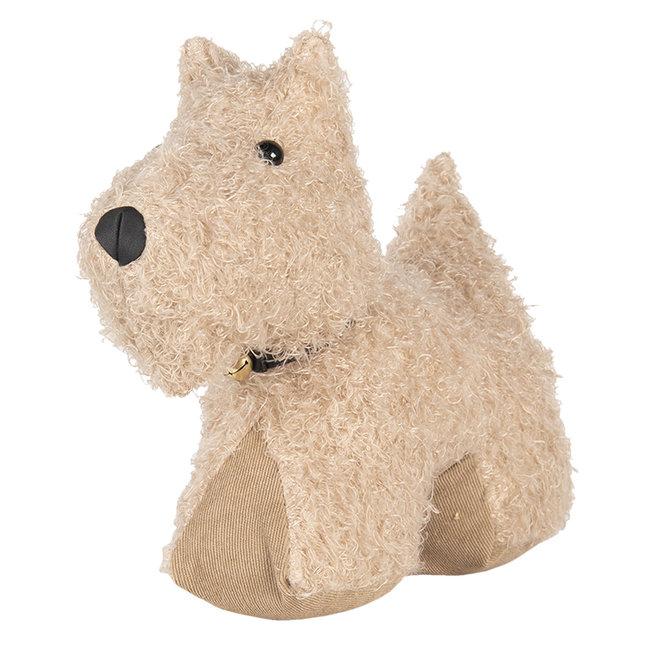 Clayre & Eef Deurstopper hond snoopie