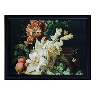 Schootkussen laptray  bloemen en fruit