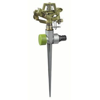 Eurom Sprinkler T-spike sector tuinsproeier met piket 30 - 360 graden