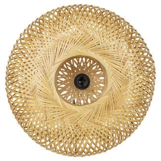 Bali-Dreams Bamboe naturel wandlamp 50cm