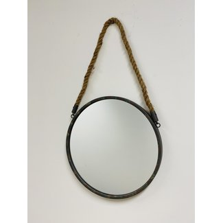 Spiegel Maurice Aan Touw 35 cm