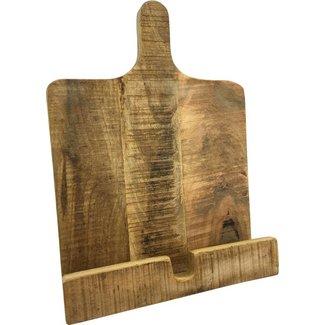 Varios Mango houten kookboekhouder Kookboek  standaard