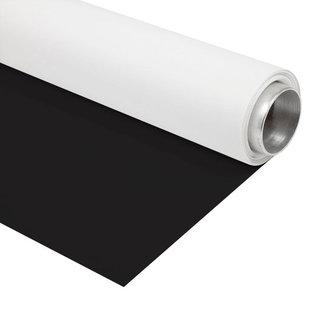 Folux Folux Vinyl zwart/wit 2.72x6m rol achtergrond