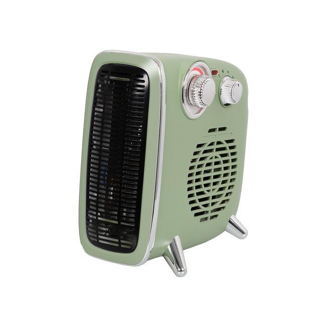 Eurom Retro kacheltje met ventilator B-4 1800 groen