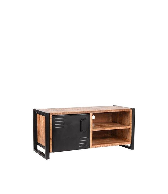 LABEL51 Tv-meubel Brussels - Rough - Mangohout - 115 cm