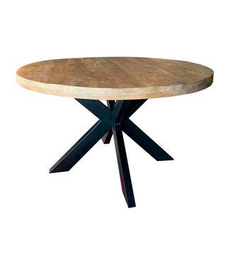 Livingfurn | eettafel |  Strong Round Spider | 140 cm