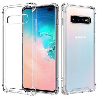 Samsung Galaxy S10 hoesje | transparant | silicone