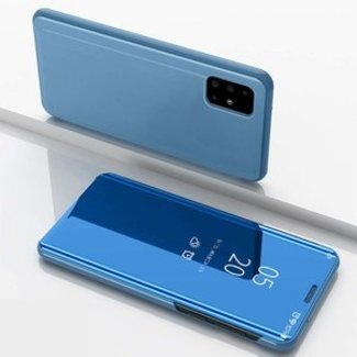 Samsung Galaxy S20 Ultra bookcase | blauw | clear view