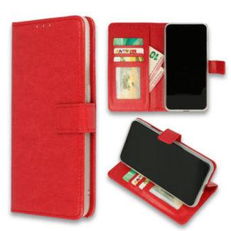 Samsung Galaxy S21 bookcase | rood