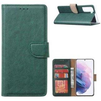 Samsung Galaxy S21 Plus bookcase | donkergroen