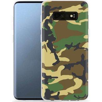 Samsung Galaxy S10 Plus hoesje | camouflage