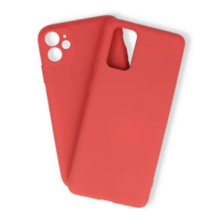 Samsung Galaxy A51 hoesje | rood silicone