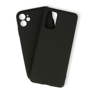 Samsung Galaxy A51 hoesje | zwart silicone