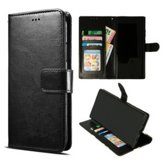 Samsung Galaxy A20S bookcase   zwart