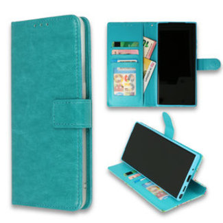 Samsung Galaxy A42 5G bookcase | turquoise