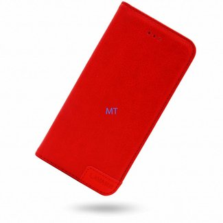 Samsung Galaxy A52 bookcase | rood | lavann protection leather